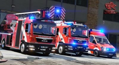 GTAV-Feuerwehrfahrzeuge